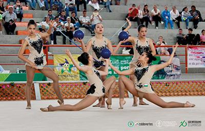 Amplia representación antioqueña en Sudamericano de Gimnasia Rítmica