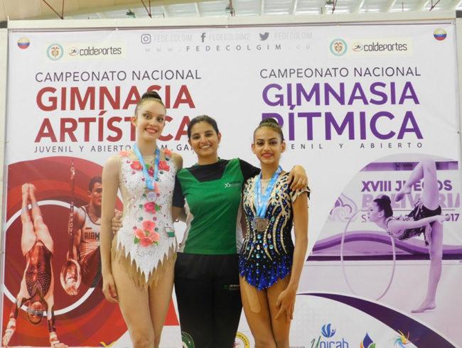 Antioquia dejó huella en Campeonato Nacional de Gimnasia