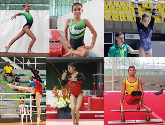 Seis gimnastas antioqueños estarán presentes en Campeonato Sudamericano de Gimnasia Artística