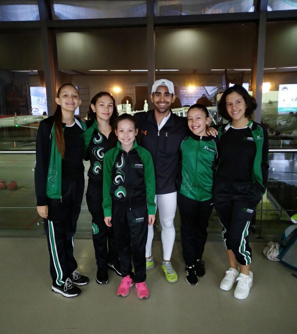 Gran participación de nuestras gimnastas en el 4to Campeonato Nacional de Gimnasia Rítmica