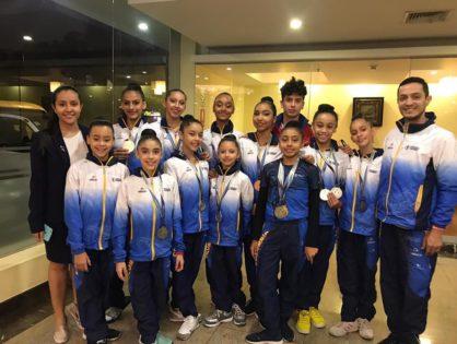14 Medallas en el Campeonato Sudamericano Grupo de edades y Junior de Gimnasia Rítmica