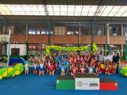 La gimnasia es un éxito en los Juegos Escolares
